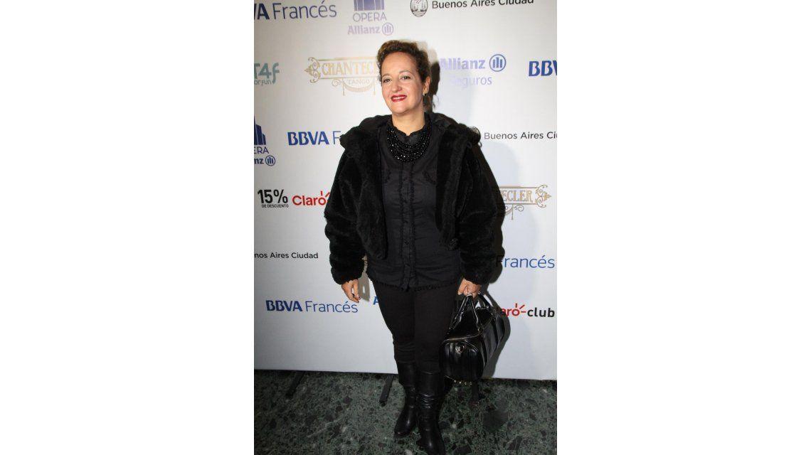 Mora Godoy estrenó Chantecler Tango a sala llena con muchos famosos en la platea