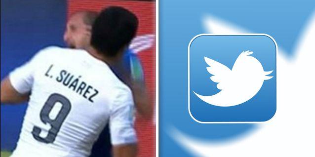 Le cortaron los dientes: Luis Suárez, afuera del Mundial; los tweets de los famosos
