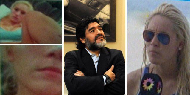 Rocío Oliva se ríe de la violencia de género: Maradona es un romántico
