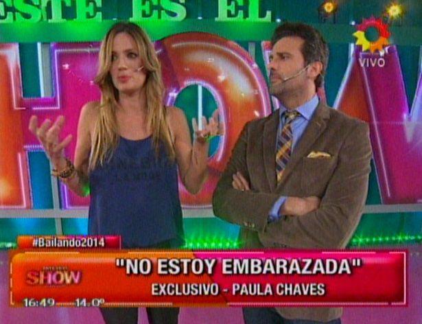Paula Chaves volvió a la televisión pero todavía preocupa su salud: su descargo en vivo