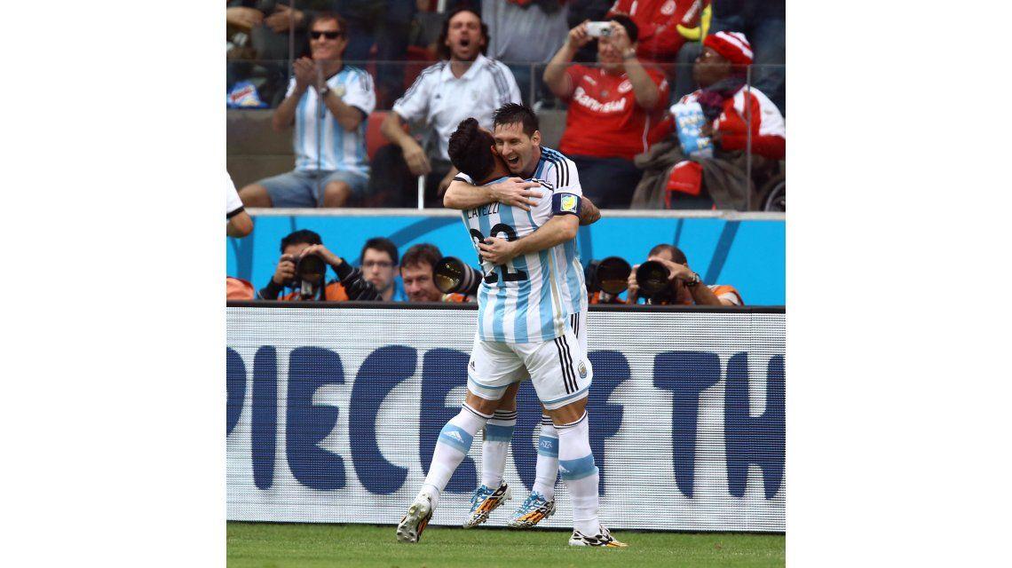 Argentina-Nigeria paralizó al país con picos de 67 puntos de rating
