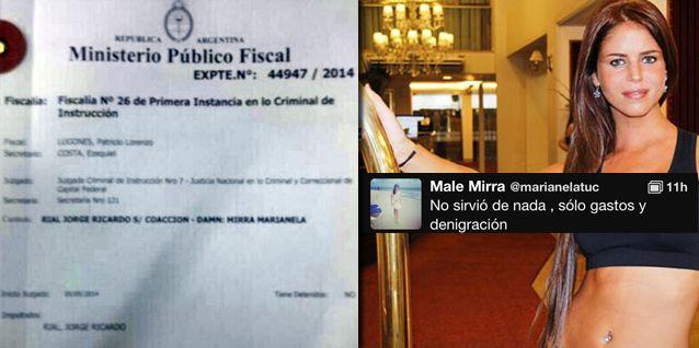 Revés judicial para Marianela Mirra: No sirvió de nada, solo gastos y denigración