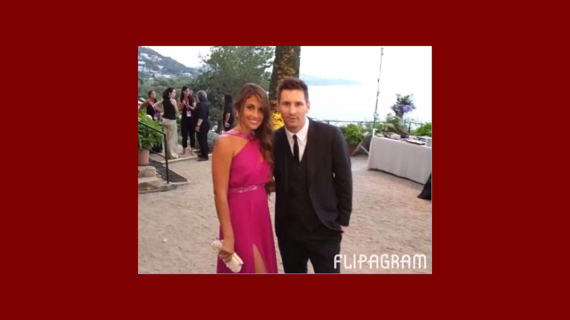 El tierno video que Antonella Roccuzzo le preparó a Lionel Messi en su cumpleaños