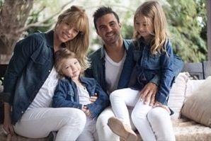 Esperando a Sienna: la tierna producción de fotos de Nicole Neumann y su familia