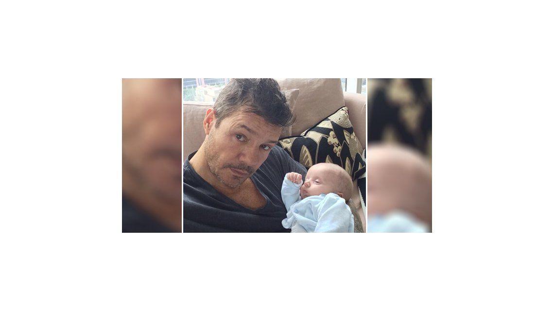 La foto de Marcelo Tinelli y su hijo Lorenzo: Es un momento único e irrepetible