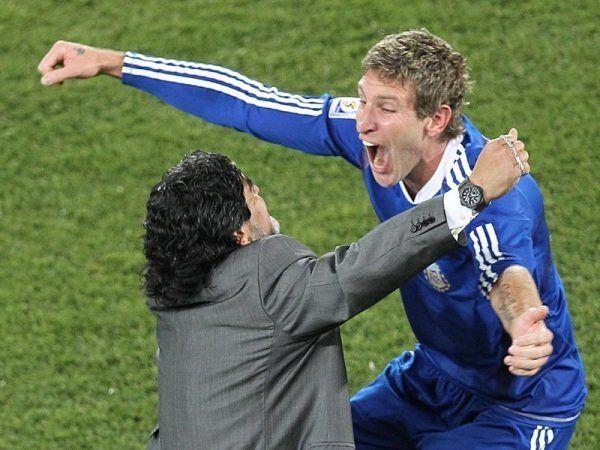 Palermo estaba como invitado al ciclo de Maradona pero no salió al aire