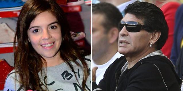 Grondona Jr. dijo que #MaradonaEsMufa y Dalma salió a defenderlo en Twitter