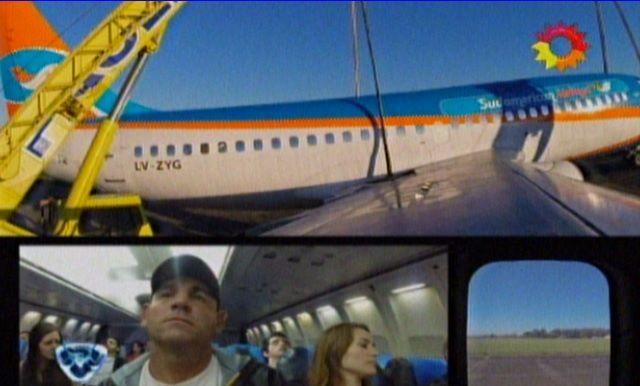 Arrancó El peor vuelo, la cámara oculta de Tinelli con un avión a punto de caer