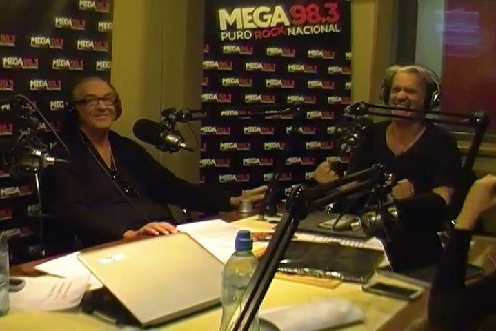 Roberto Pettinato, eufórico con un invitado de lujo en su ciclo de radio matutino