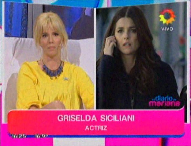 Griselda Siciliani: Me gusta cómo está Araceli en Guapas