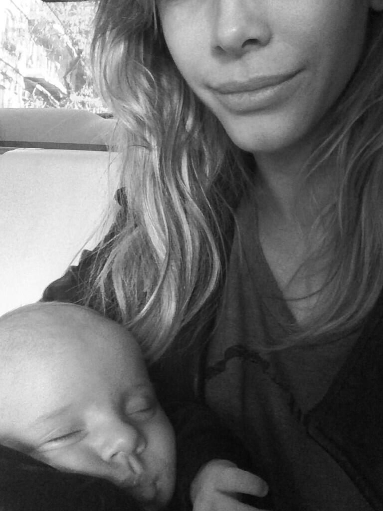 Lorenzo, el hijo de Marcelo Tinelli y Guillermina Valdes cumple dos meses: el saludo de sus padres y sus hermanos