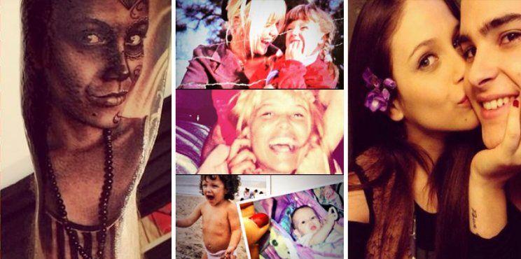 El cumpleaños de Barbie Vélez: fotos de su infancia con Nazarena; Augusto Schuster, romántico; y el tatuaje de su papá
