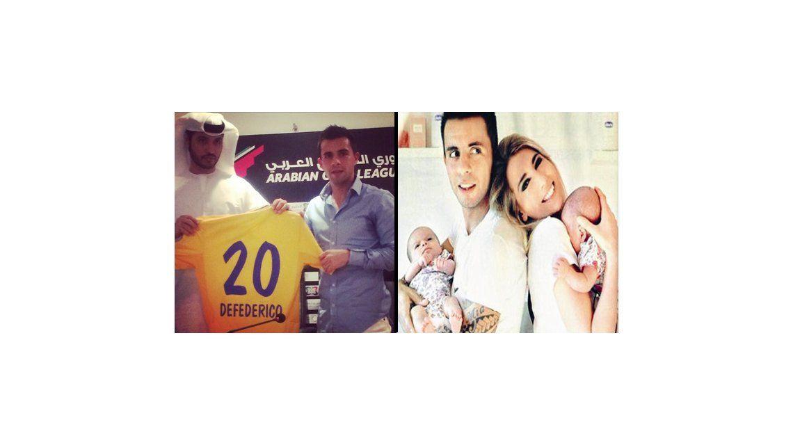 Cinthia Fernández y Matías Defederico superaron la crisis y se van a Dubai con sus hijas