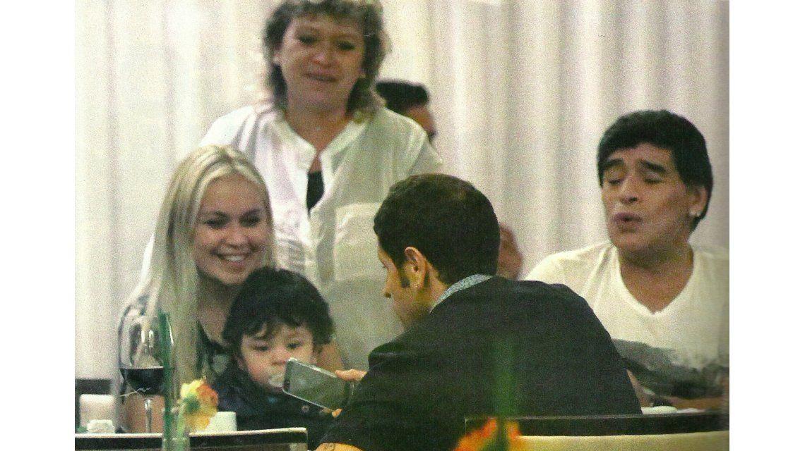 La promesa secreta de Diego Maradona a Verónica Ojeda en su fogoso reencuentro