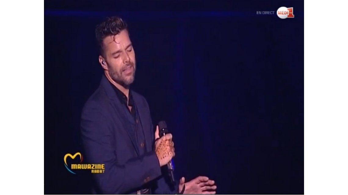 Ricky Martín le cantó a los gays en Marruecos a pesar de estar prohibido