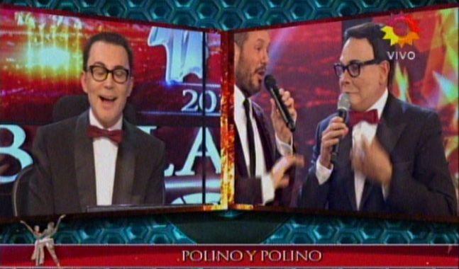El impecable doble de Marcelo Polino en una nueva noche de Showmatch
