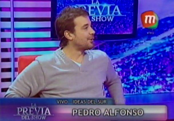 Así fue el primer Día del Padre de Pedro Alfonso, con Olivia y Paula Chaves