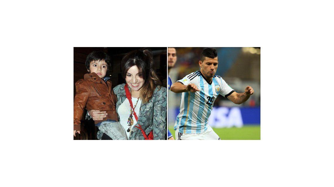 ¿Por qué el hijo de Gianinna Maradona no pudo viajar a alentar al Kun Agüero a Brasil?