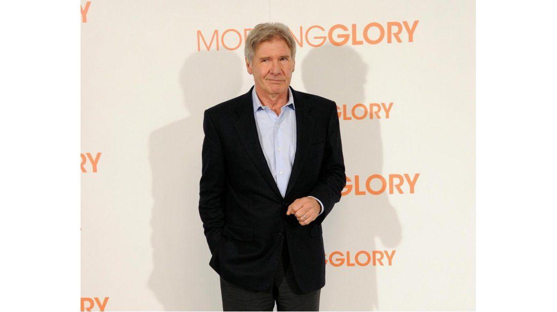 Harrison Ford se lastimó en el set de la nueva película de Star Wars