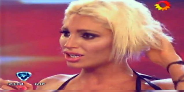 La Griega Xipolitakis: Desde que estoy pelada no tengo sexo