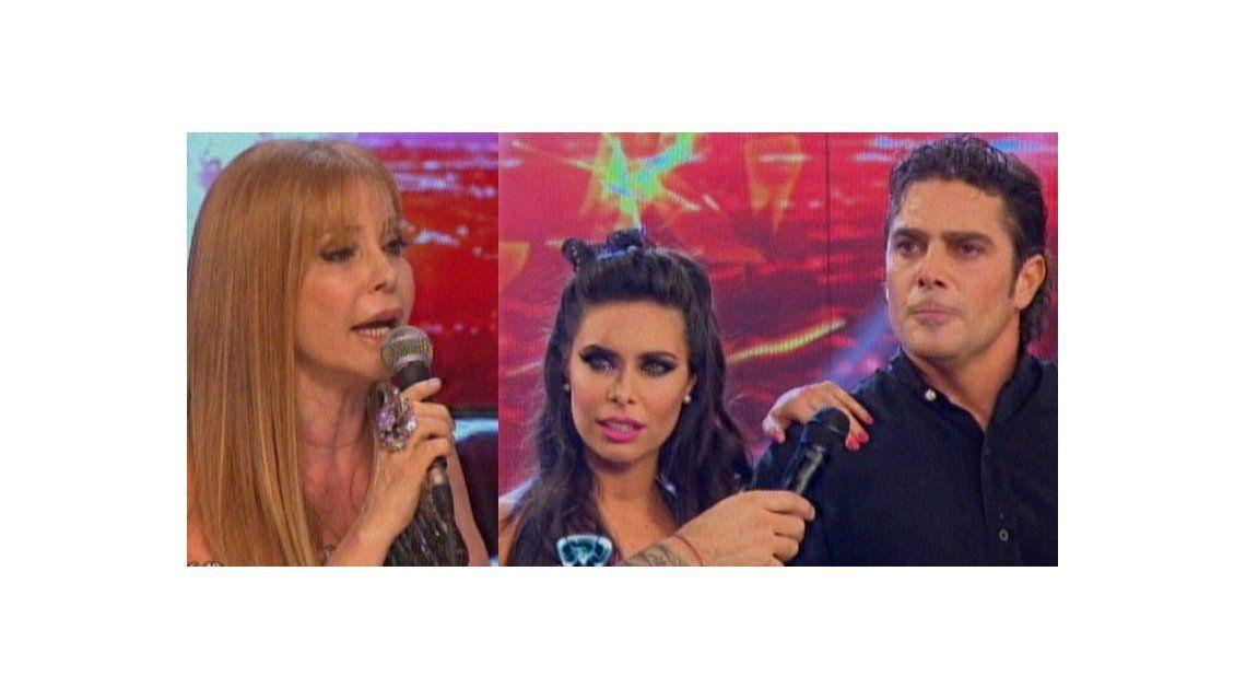 Después de seis años, Matías Alé y Graciela Alfano se reencontraron en el Bailando y estalló la guerra