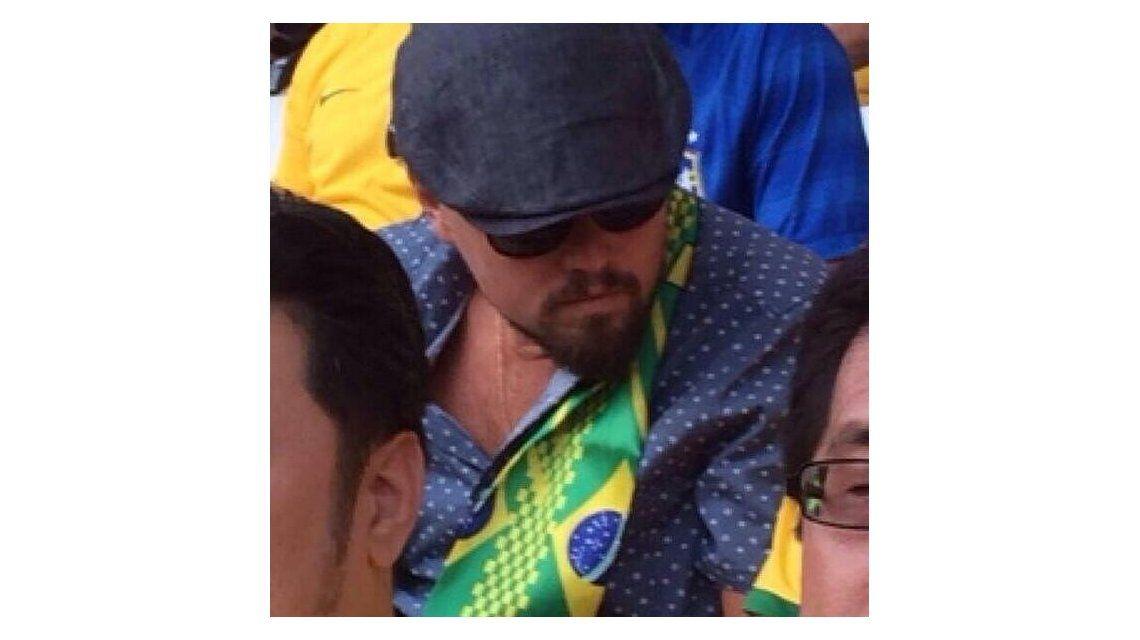 El actor de Hollywood que se camufló para ver el partido Brasil-Croacia