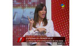 Valeria Archimó, embarazada, espera su primer hijo con Guillermo Marín