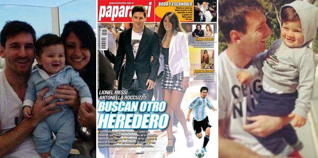 Leo Messi y su mujer Antonella Roccuzzo buscan un nuevo heredero