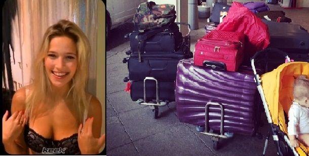 ¿No será mucho? Luisana Lopilato lleva 10 valijas en sus viajes con Bublé