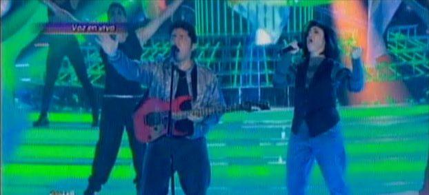 Coki Ramírez fue la gran ganadora de la noche por su imitación de 4 Non Blondes