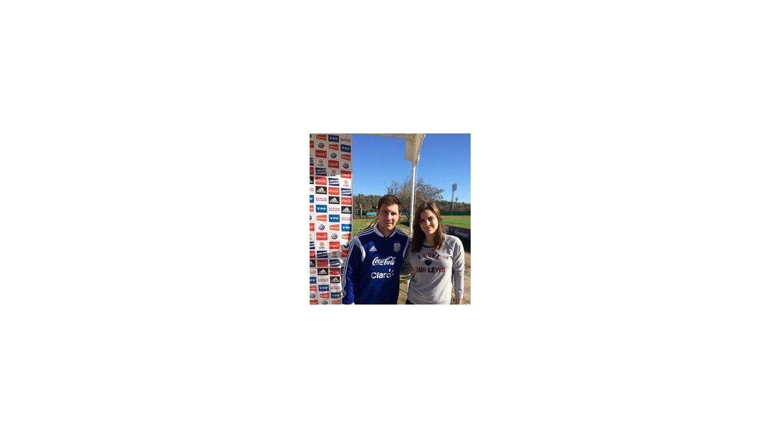 La visita de Ciro Martínez a la Selección Argentina y la divertida anécdota de su hijo con Lionel Messi
