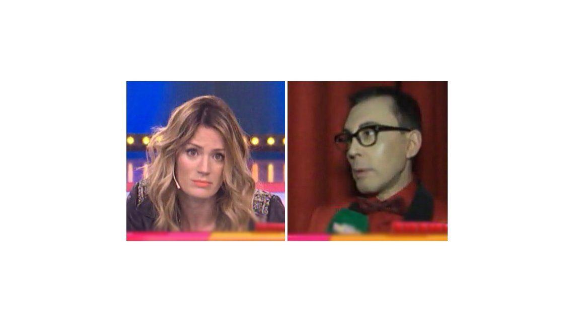 La insólita pelea de Paula Chaves y Marcelo Polino: Capaz quiere conducir Este es el Show