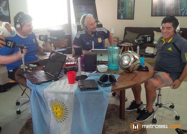 La selfie de Diego Maradona en Brasil que revolucionó las redes sociales