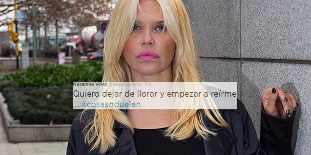 El dolor de Nazarena Vélez: Quiero dejar de llorar y empezar a reírme