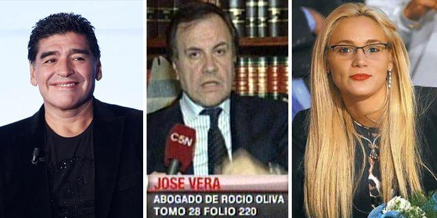 Hay pruebas de violencia de género de Diego Maradona hacia Rocío Oliva