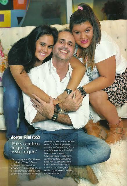 Jorge Rial cambió a sus hijas Morena y Rocío a un colegio estatal