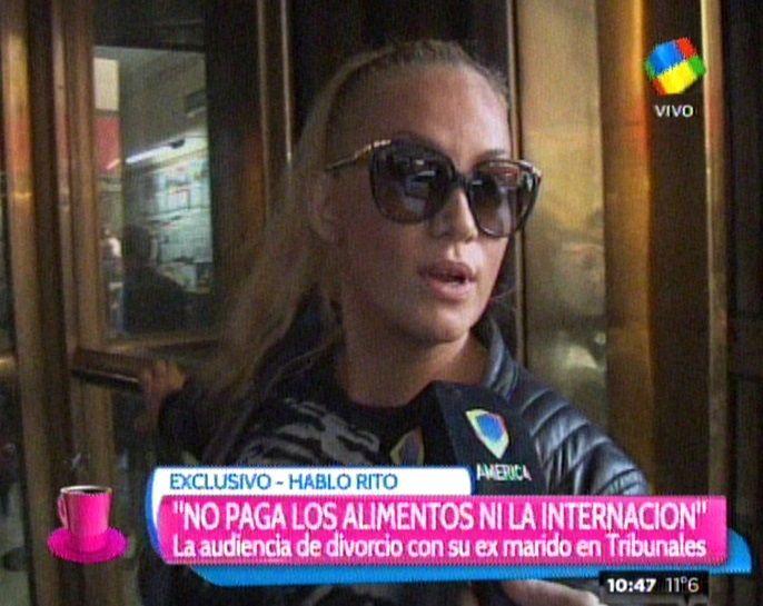 María Eugenia Ritó otra vez frente a la Justicia: fue denunciada por el asesor de Moria Casán