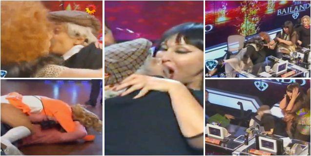 Cambio de roles de Anita Martínez y el bicho Gómez: besos, alto rating y blooper