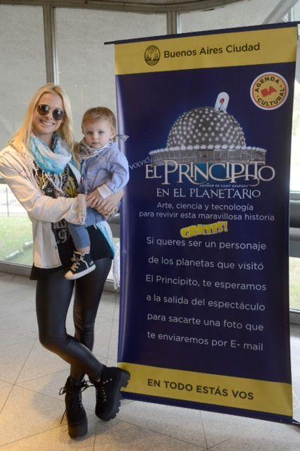 El Principito festejó las 150 funciones en El Planetario