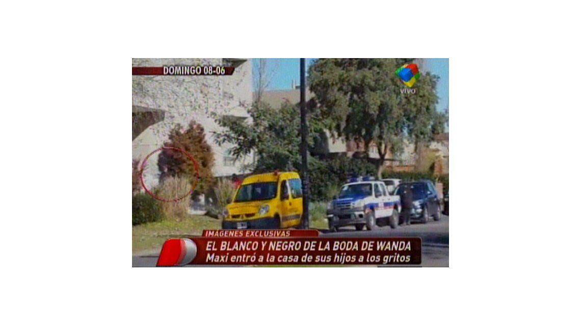 Las imágenes del escándalo entre Maxi López y Mauro Icardi en la casa de Wanda Nara