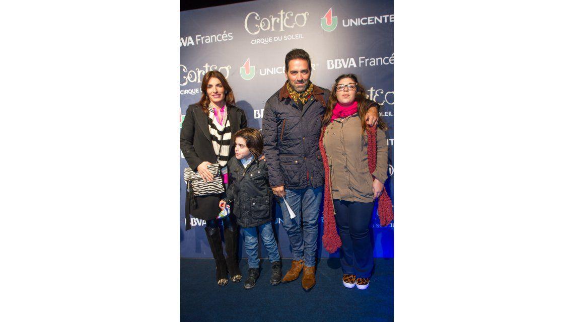 Los famosos vieron Corteo, el nuevo show del Cirque du Soleil