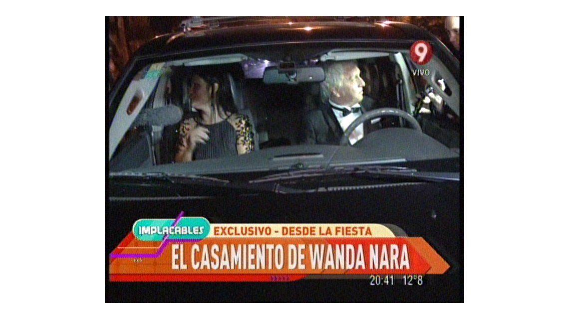 Éstos fueron los primeros invitados al casamiento de Wanda Nara y Mauro Icardi