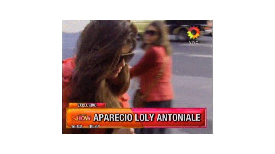 Loly Antoniale en Buenos Aires: ensaya su baile lejos de Rial y su familia