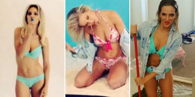 Mamita: Luisana Lopilato volvió a calentar las redes sociales en traje de baño