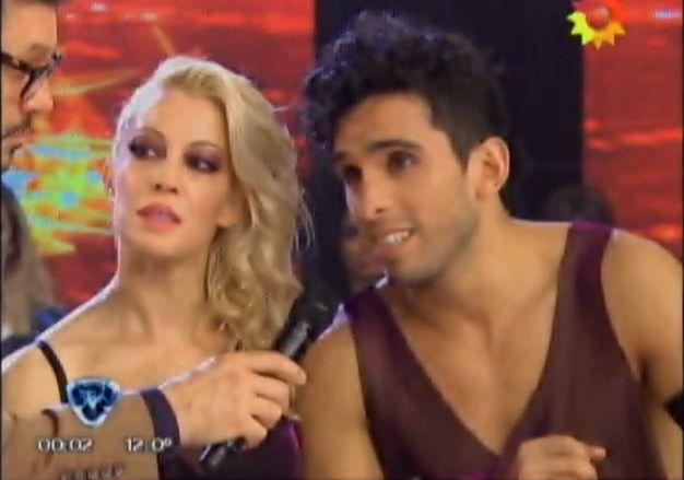 Miriam Lanzoni enfrentada a su bailarín Gabo Usandivaras: es un trepa