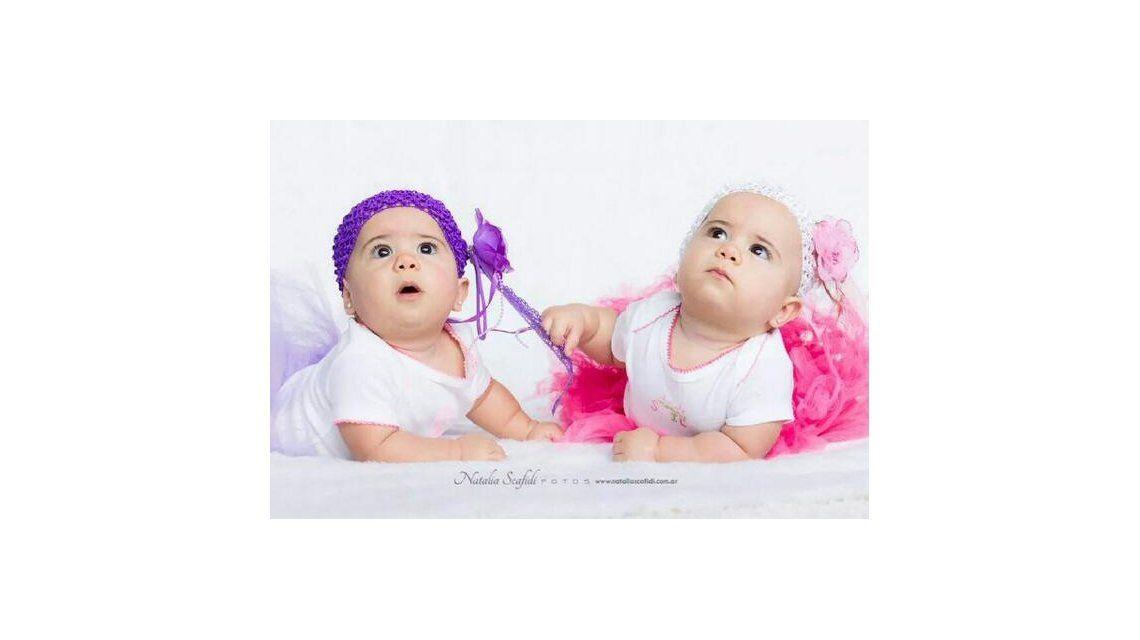 A los ocho meses, las hijas de Cinthia Fernández y Matías Defederico debutaron como modelos