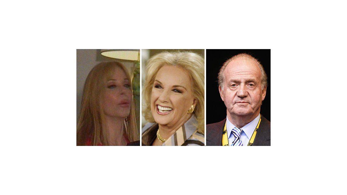 Graciela Alfano jubiló a Mirtha: Tendría que abdicar como el rey Juan Carlos