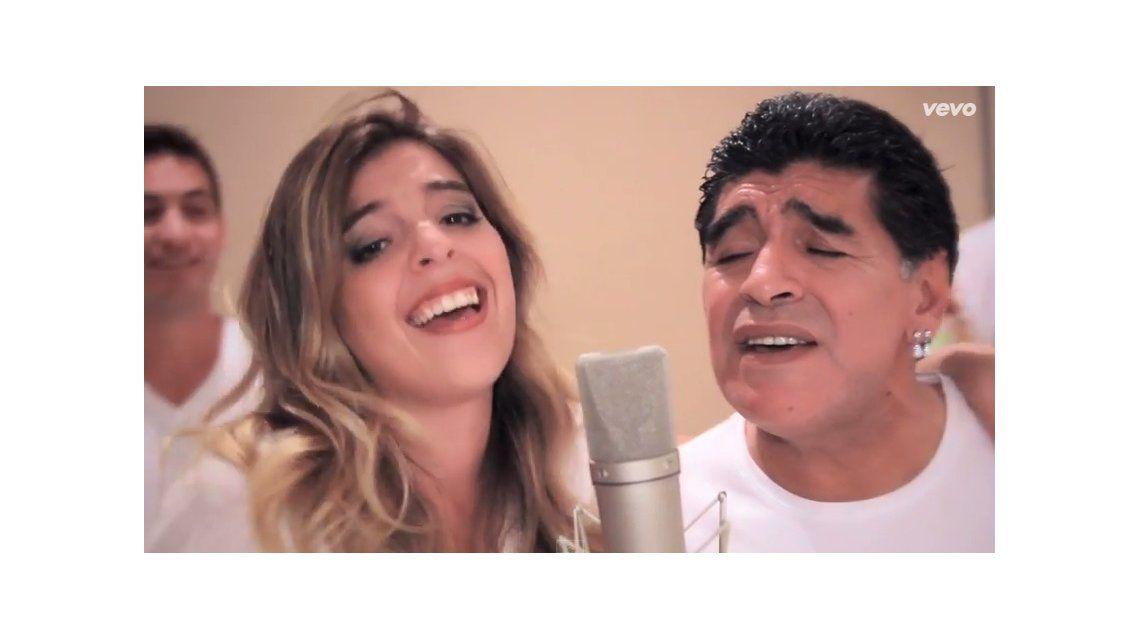 Dalma Maradona: Me gustaría grabar todo lo que pasa en Ezeiza