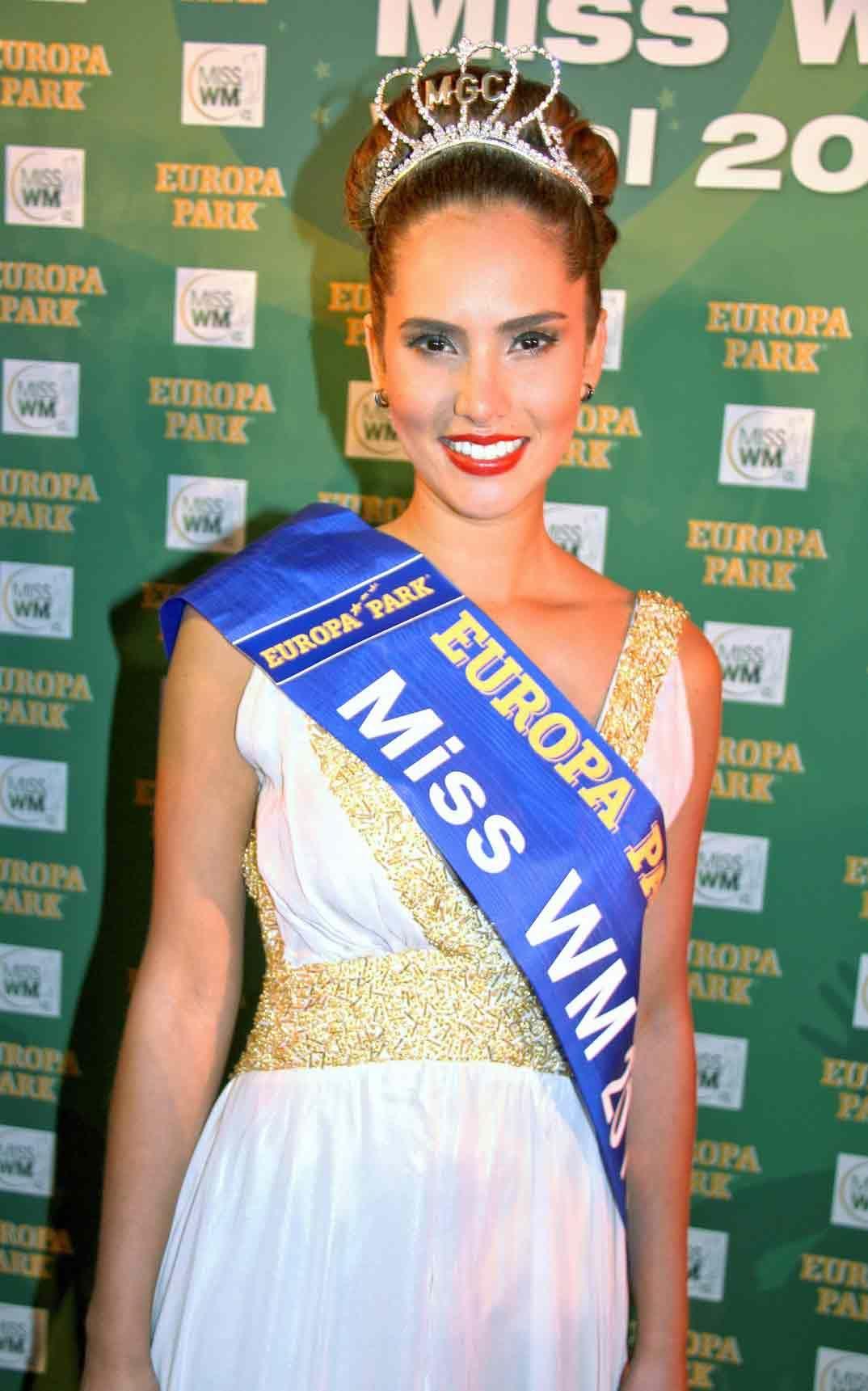 Daniela Ocoró, la ganadora del certamen Miss Mundial 2014