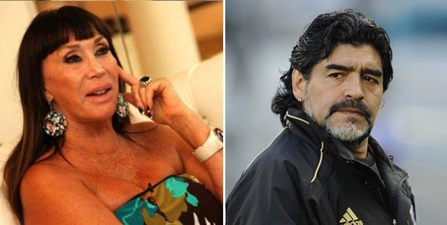 Maradona, el conquistador, después de Graciela Alfano va por Moria Casán